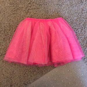 Bright Pink Cat and Jack Tutu